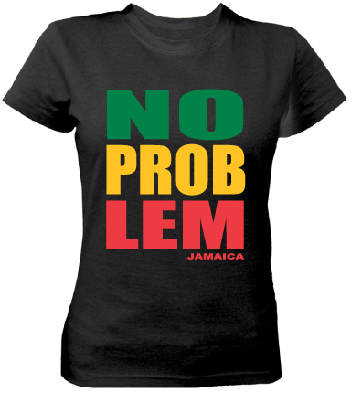 Ladies 'No Problem' Cotton Tee