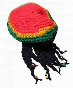 Rasta Tam-Knitted dreadlock Tam