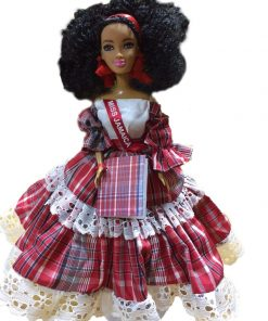 Miss Jamaica Bandana Doll