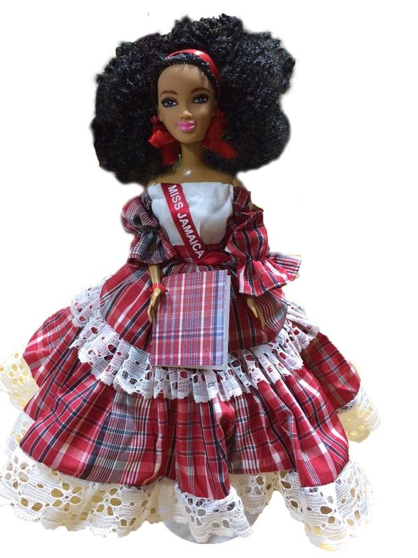 Golf Bags For Sale >> Miss Jamaica Bandana Doll - Sun Island Jamaica