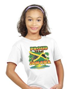 Kids Printed Sun Island Cotton Tee