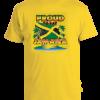 Kids 'Proud to Say Jamaica' Printed Yellow Cotton Tee