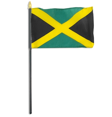 Wave Jamaica Flag