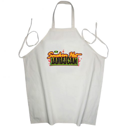 'Smoking Hot' Printed Apron