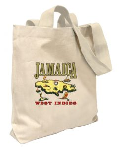 'Jamaica West Indies' Canvas Tote Bag