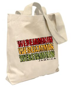 'We be Jammin' Canvas Tote Bag