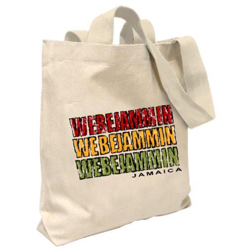 'We be Jammin' Canvas Tote Bag