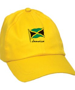 Kids 'Jamaica Flag' Yellow Cap