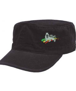 Adult Embroidered Military Cap