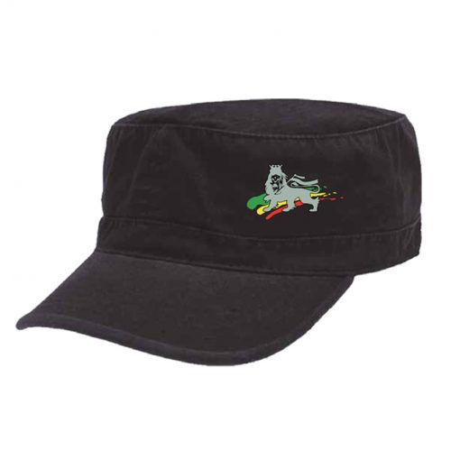 'Lion of Judah' Embroidered Military Cap