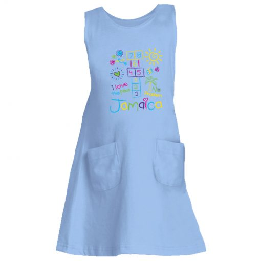 Girls Printed Jersey Tank