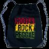 Roots,Rock,Reggae' Drawstring Knapsack