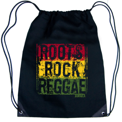 Roots,Rock,Reggae' Drawstring Knapsack