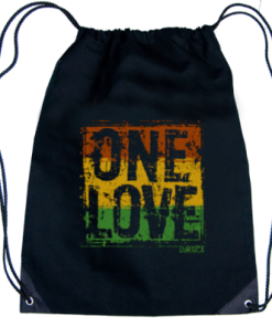 'One Love' Drawstring Knapsack