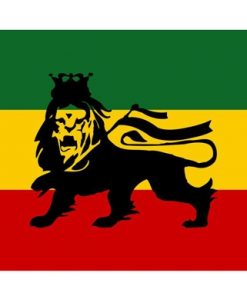 Medium Lion of Judah Flag