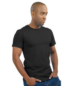 S.I. Cotton V-Neck T-Shirt
