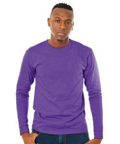 Men's Sun Island Long Sleeve Purple