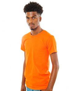Sun Island Orange Cotton Tee