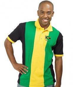 Men's Panel Pique Golf Shirt