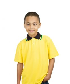 Kids Jacquard Golf Shirt