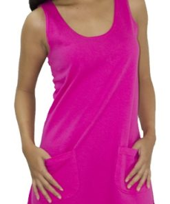 Ladies Tank Dress with Pockets