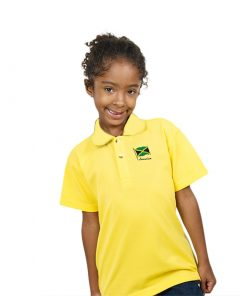 Kids Embroidered Golf Shirt