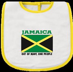 nfant 'Jamaica Flag' Printed Bib.
