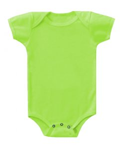 Baby Cotton Lime Romper.