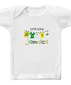 Toddler 'One Love Jamaica' Printed T-shirt