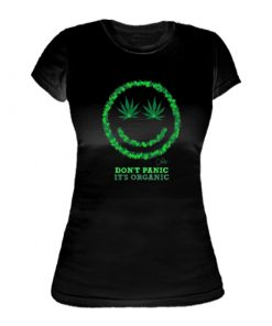 Ladies ' It's Organic Printed Slim Fit T-shirt