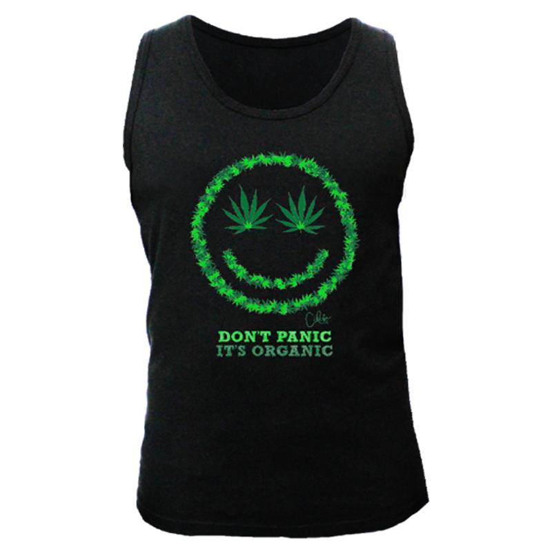 6bdbcd72175e54 Men s  It s Organic  Printed Tank Top-100%Cotton-Sun Island Jamaica
