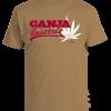 Men's 'Ganja University' Printed Cotton Tee