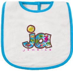 Infant 'Jamaica' Printed Bib
