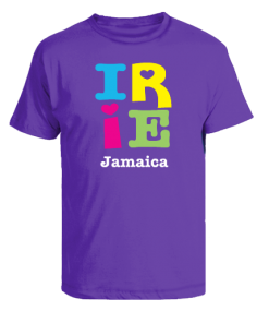 Kid's 'Irie Jamaica' Cotton T-shirt