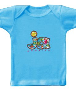 Toddler 'Jamaica' Printed Turquoise T-shirt