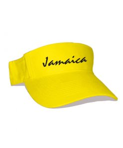 yellow embroidered Sun Visor