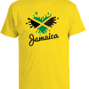 kids yellow heart splash t-shirt
