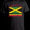 men's black printed t-shirt