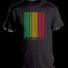 Men's Black 'Reggae Barcode' T-shirt