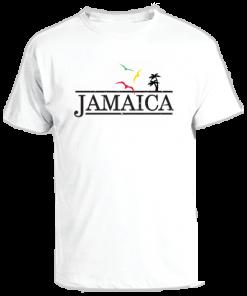 White Sun Island Printed T-shirt