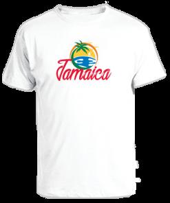 white printed kids t-shirt