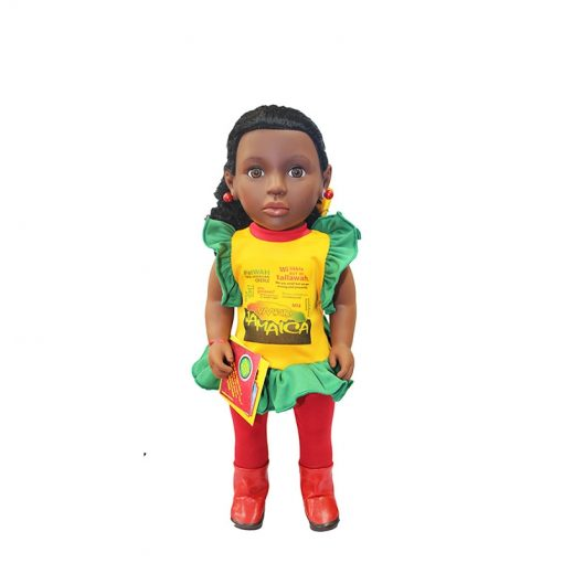 Patois Speaking Doll (Rasta-Tee Outfit)