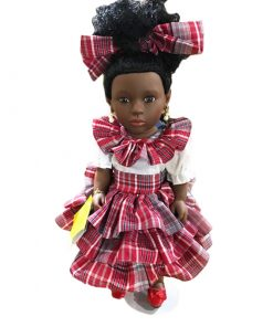 Patois Speaking Doll (Bandana Outfit)