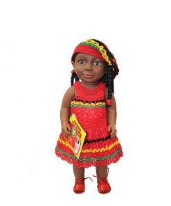 Patois Speaking Doll ( Crochet Outfit