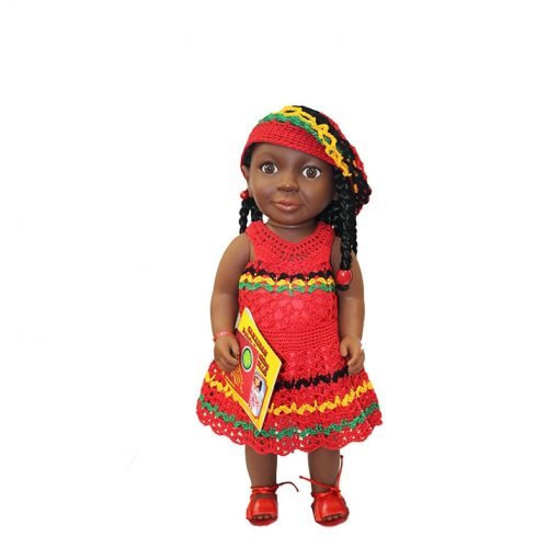 Patois Speaking Doll (Floral Bow Outfit)
