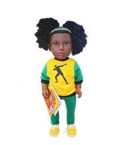 Patois Speaking Doll (Bolt Outfit)