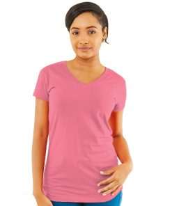 Ladies V-Neck Slim Fit Tee