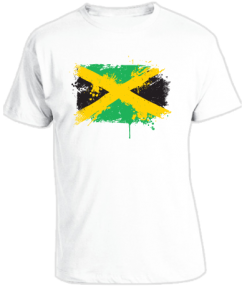 Kid's 'Painted Jamaican Flag' T-shirt