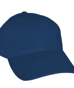 Adult Polyester Navy Baseball Cap
