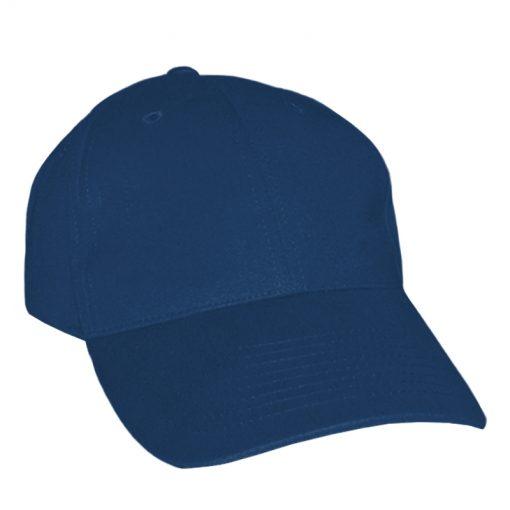 Adult Polyester Navy Baseball Cap